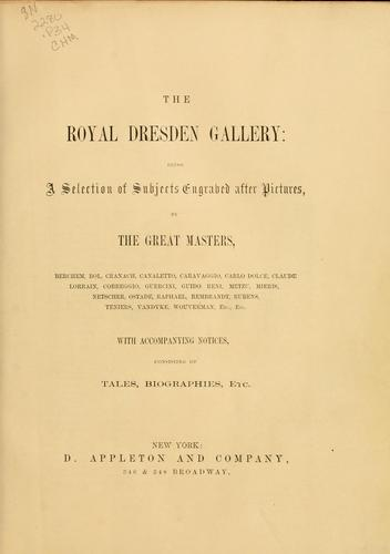 Royal Dresden Gallery by A. H. Payne