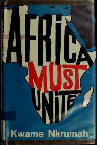 Africa must unite.
