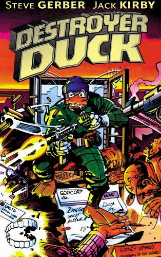 Destroyer Duck by Jack Kirby