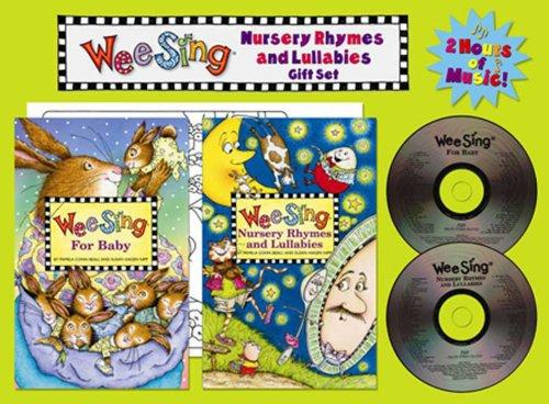 Wee Sing Nursery Rhymes and Lullabies Gift Set by Susan Hagen Nipp