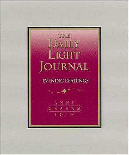 Daily Light Journal Evening Readings