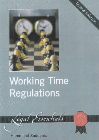 Working Time Regulations by Hammond Suddards