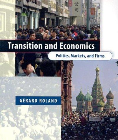 Transition and Economics by Gérard Roland