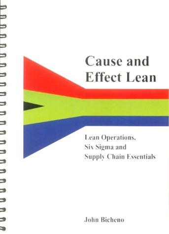 Cause and Effect Lean by John Bicheno