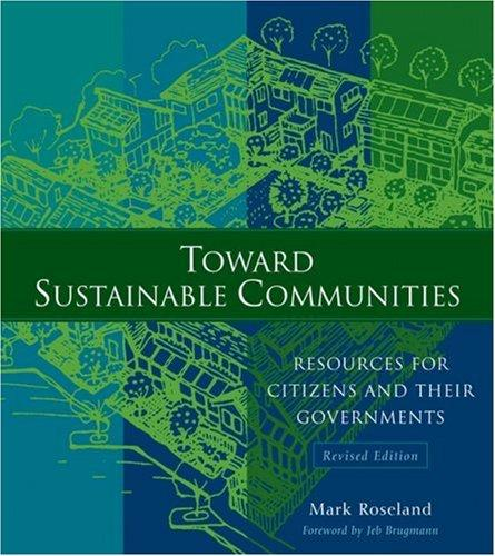 Toward sustainable communities by