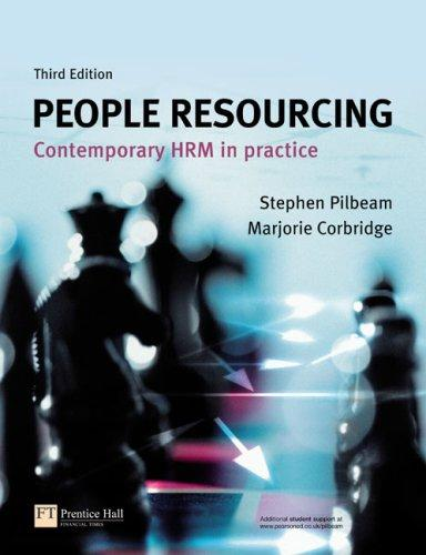 People resourcing by