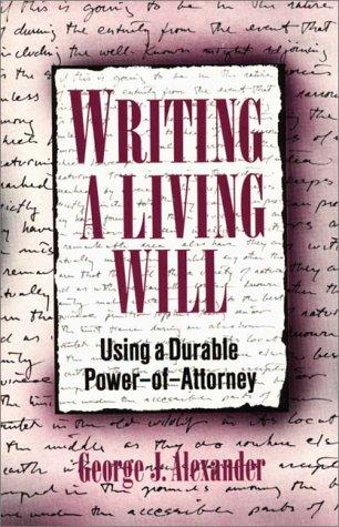 Writing a living will