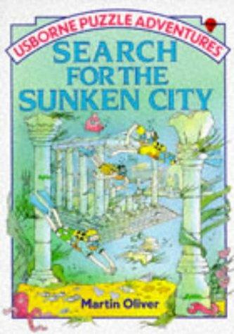 Search for the Sunken City (Puzzle Adventures) by M. Oliver