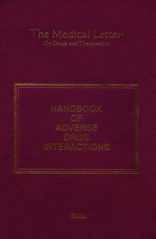 Handbook of Adverse Drug Interactions by The Medical Letter
