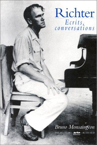 Ecrits, conversations by Sviatoslav Richter