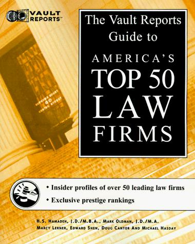 Law Firms by Mark Oldman, Marcy Lerner, Edward Shen, Dough Cantor, Michael Hasday