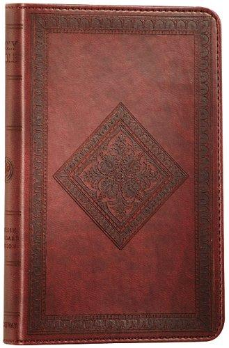 Holy Bible- ESV Thinline Chesnut Diamond