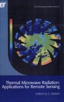 Thermal Microwave Radiation by C. Matzler